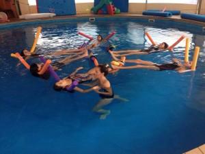 לימוד שחיה לילדים ברמת גן